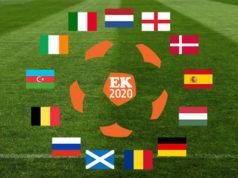 Euro 2020: de verblijfplaatsen van de EK deelnemers
